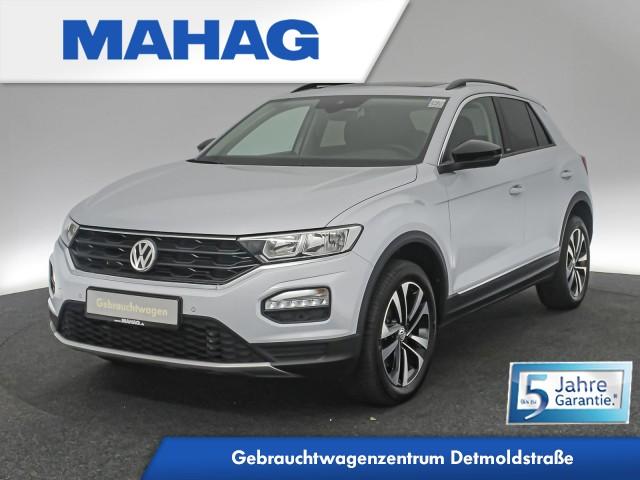 Volkswagen T-ROC 2.0 TDI UNITED Navi Panorama Standhz. eKlappe AppConnect ParkPilot FrontAssist 17Zoll DSG, Jahr 2020, Diesel