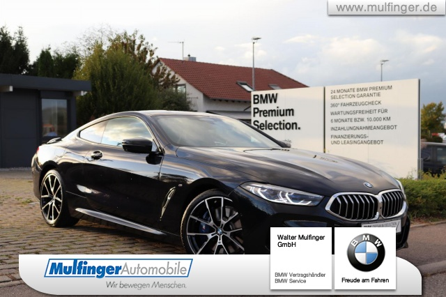 "BMW 840d xDr.M Sport DrivAs-Prof.Sitzbel.Park+ 20"" HUD, Jahr 2019, diesel"