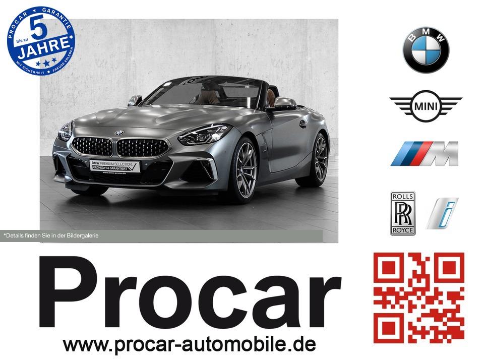 BMW Z4 M40i Cabrio Navi Head-Up DAB-Tuner WLAN, Jahr 2019, petrol