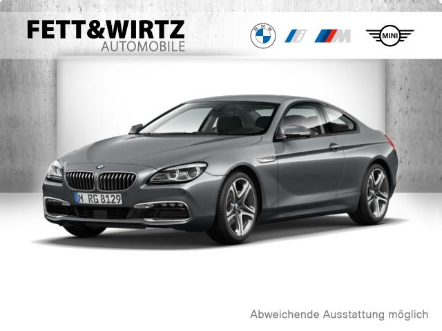 BMW 640d Coupe 19'' LED PDC HUD H&K Alarm Rück, Jahr 2017, Diesel