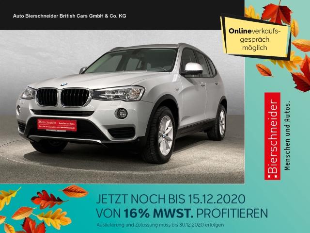 BMW X3 20d xDrive NAVI, SITZHEIZUNG, TEMPOMAT, ALLRAD, PARK-SYSTEM VORNE UND HINTEN, SERVOLENKUNG, Jahr 2015, Diesel
