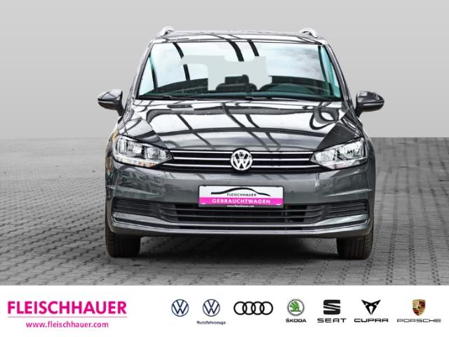 Volkswagen Touran United 1.5 TSI 7-SITZER NAVI KLIMA SHZ PDC ACC, Jahr 2020, Benzin