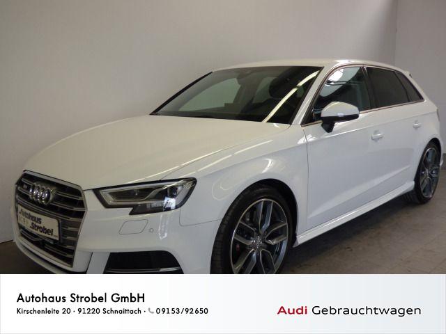 Audi S3 Sportback 2.0 TFSI quattro Navi ACC LED Kamera Sitzhzg Bluet. Virtual Cockpit DAB+, Jahr 2016, Benzin