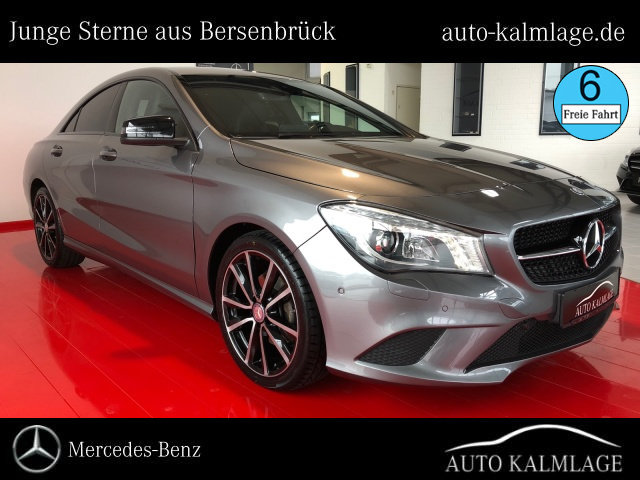 Mercedes-Benz CLA 220 CDI Coupé Urban+Navi+Xenon+Night-Paket, Jahr 2014, diesel