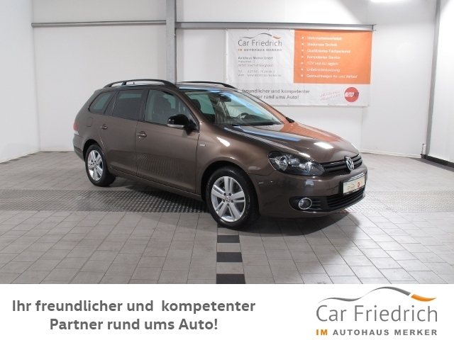 Volkswagen Golf Variant 1.6 TDI Match 4Motion, Jahr 2013, Diesel