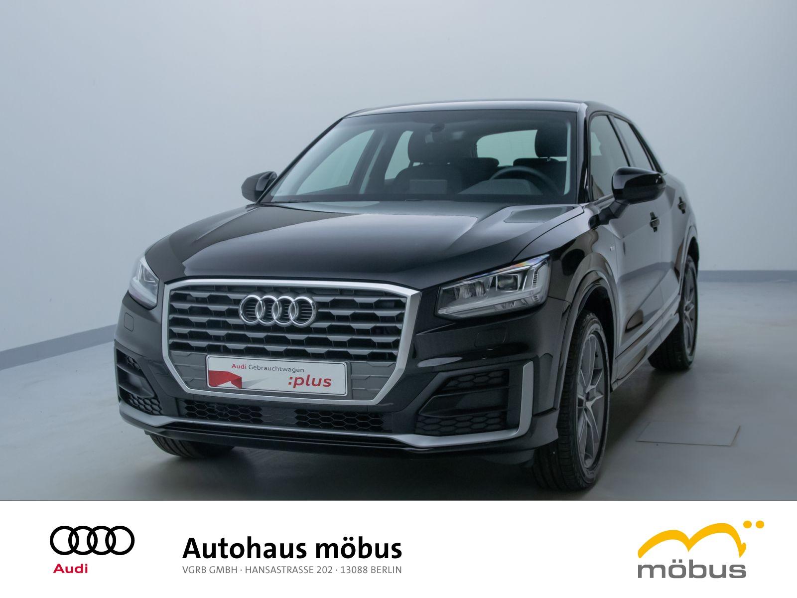 Audi Q2 design 35 TFSI S-TRO*SLINE*LED*AHK*PDC*NAV*BT, Jahr 2020, Benzin