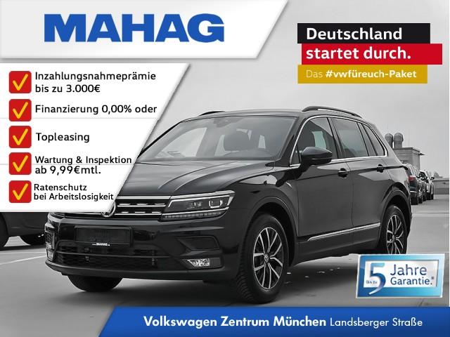 Volkswagen Tiguan Comfortline 1.5 TSI 6-Gang - NAVI / AHK / LED / 3-Zonen Klima / ACC / Head-up-Display / Rückfahrkamera + Front&Seite Tiguan 1.5actCLOPFFR 96 TSIM6F, Jahr 2019, Benzin