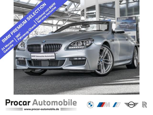 BMW 640dA Cabrio,MSport,20'',Komforstitze,HeadUp,TOP!, Jahr 2014, Diesel