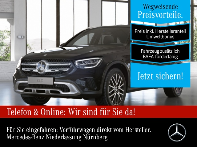 Mercedes-Benz GLC 300 e 4M LED AHK Kamera Easy-Pack 9G Sitzh, Jahr 2021, Hybrid