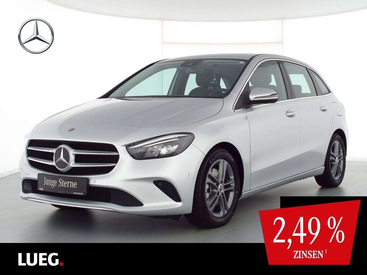 Mercedes-Benz B 220 4M Progressive+MBUX+NavPrem+LED-HP+Mem+RFK, Jahr 2020, Benzin