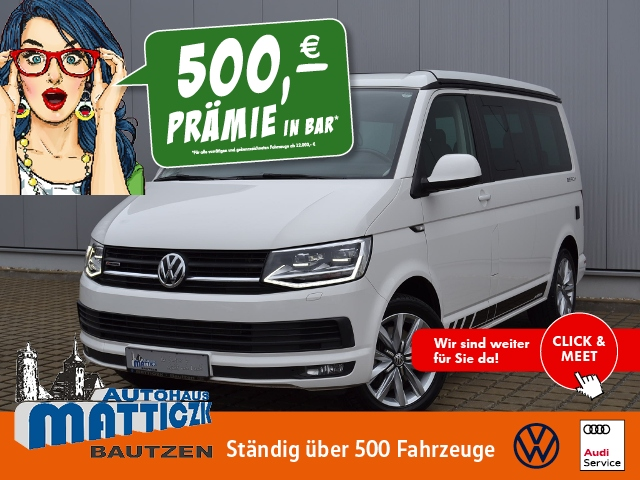 Volkswagen T6 California Beach 2.0 TDI 204 PS 4Motion DSG E, Jahr 2017, Diesel
