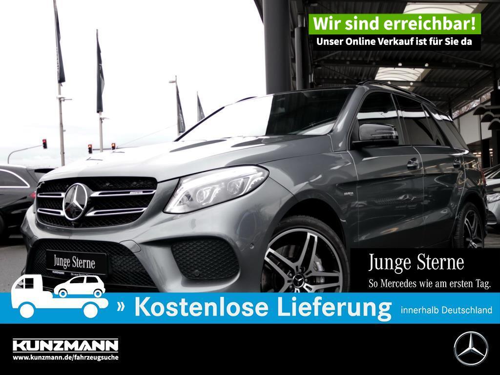 Mercedes-Benz GLE 43 AMG 4M Night Comand LED 360° Panorama-SD, Jahr 2017, Benzin