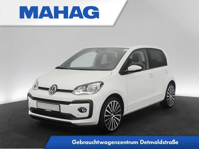 Volkswagen up! HIGH 4doors 1.0 TSI BlackPack Sitzhz. DAB+ 17Zoll 5-Gang, Jahr 2018, Benzin