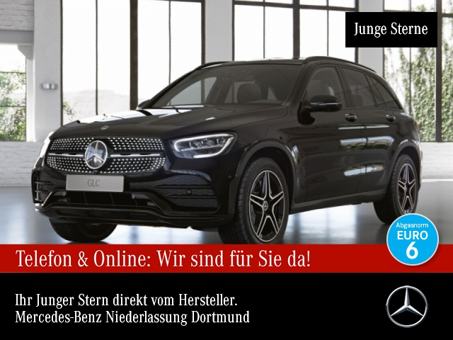 Mercedes-Benz GLC 200 d 4M AMG 360° LED Night Easy-Pack 9G, Jahr 2019, Diesel