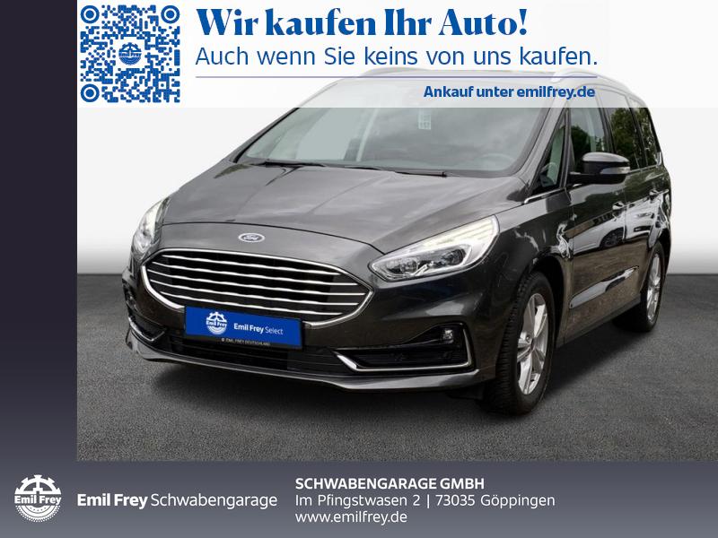 Ford Galaxy 1.5 EcoBoost S&S TITANIUM LED Navi 7-Sitze, Jahr 2020, Benzin