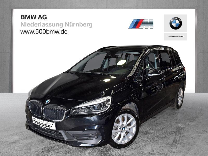 BMW 218 Gran Tourer d EURO6 Advantage LED Navi RTTI Komfortzg., Jahr 2020, Diesel
