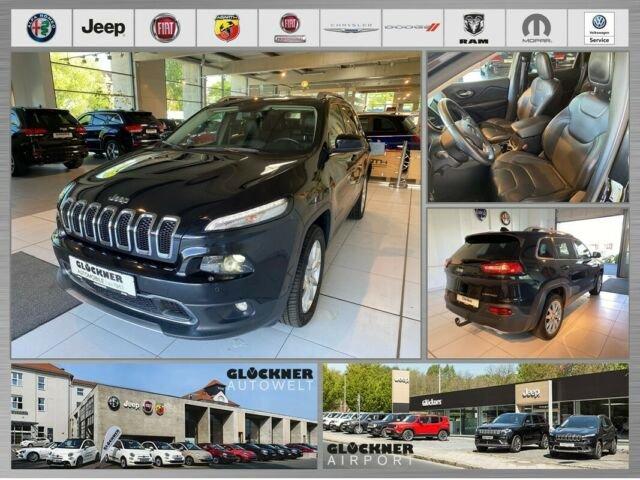 Jeep Cherokee Limited 2.0l MultiJet/AHK, Jahr 2014, Diesel