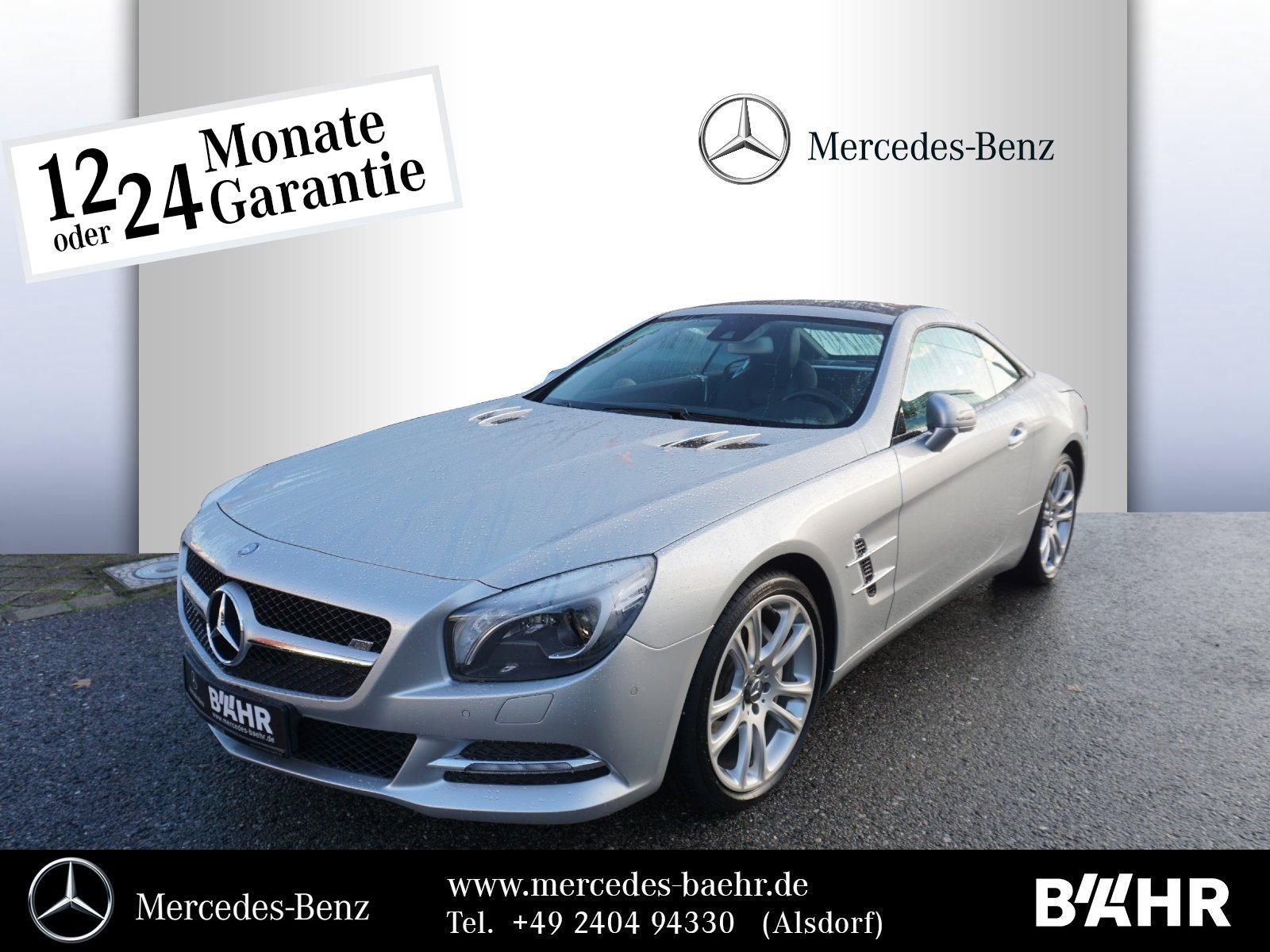 Mercedes-Benz SL 350 Comand/ILS/Harman Kardon/Airscarf/Park, Jahr 2012, petrol