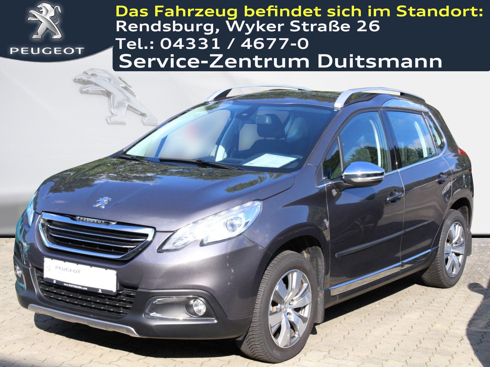 Peugeot 2008 e-HDi FAP 92 EGS6 S&S Allure ++AHK+Ganzjahresreifen++, Jahr 2014, Diesel