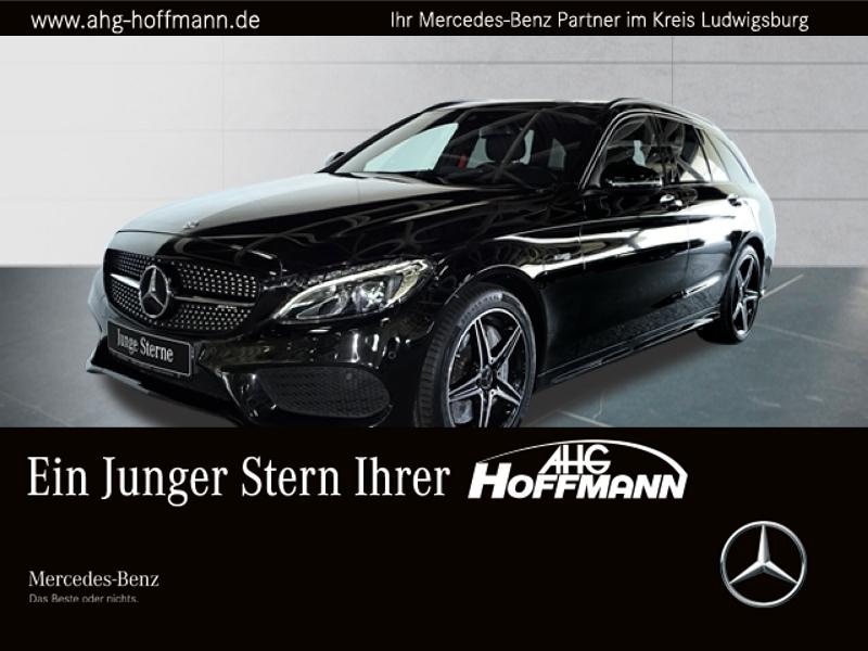 Mercedes-Benz C 43 4M T AMG+Night+LED+Pano+Comand+PDC+AbGas, Jahr 2018, Benzin