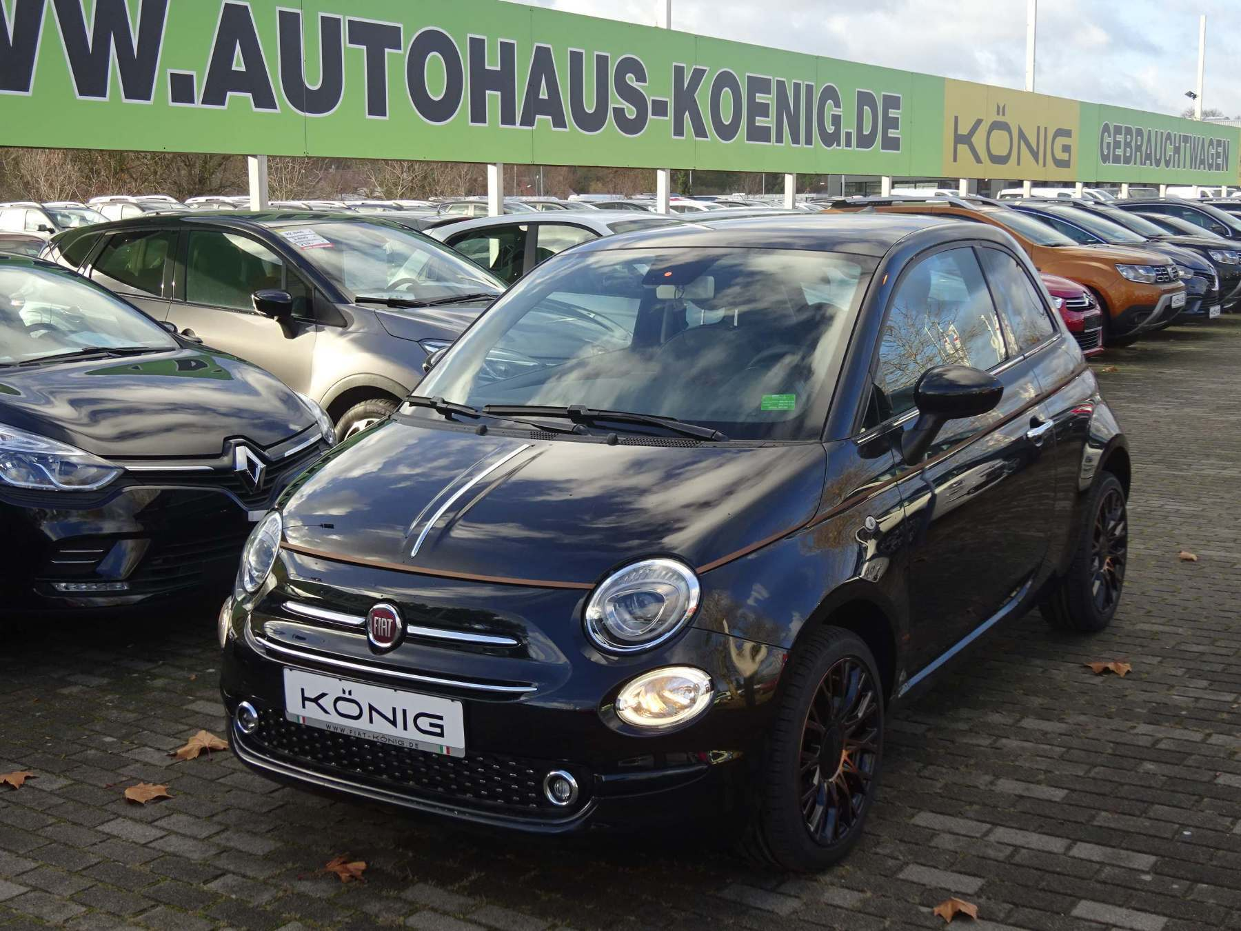 Fiat 500 1.2 8V Collezione Herbst Edition, Jahr 2019, Benzin