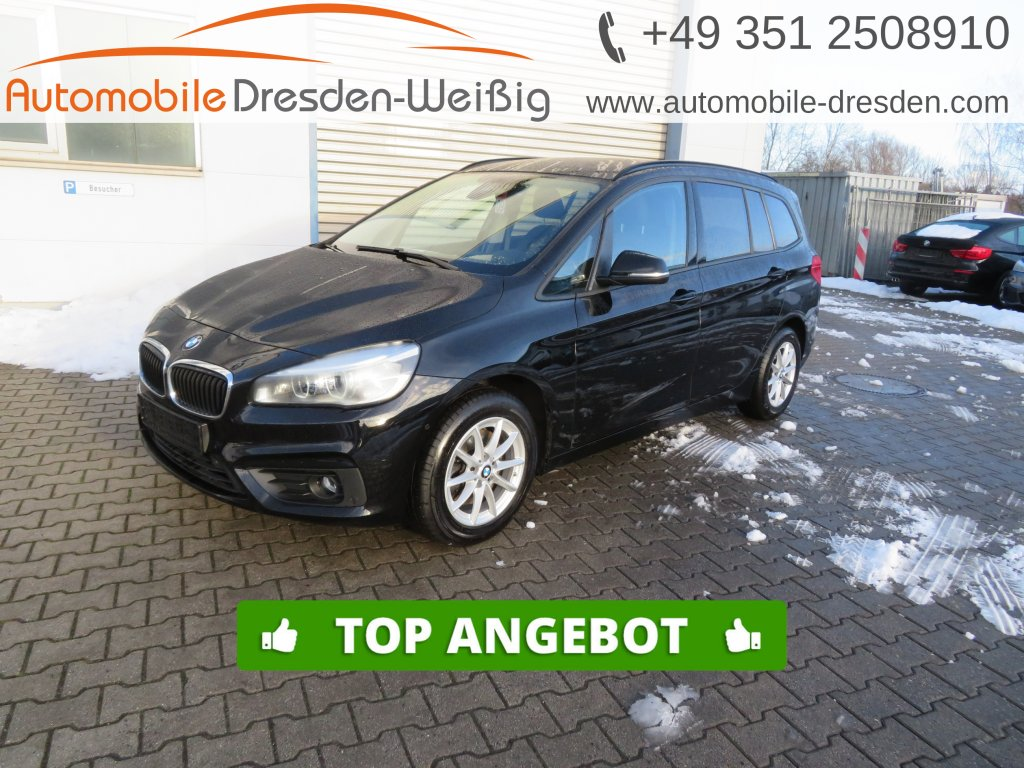 BMW 218 Gran Tourer d Advantage*Navi*LED*Parkassist*, Jahr 2017, Diesel