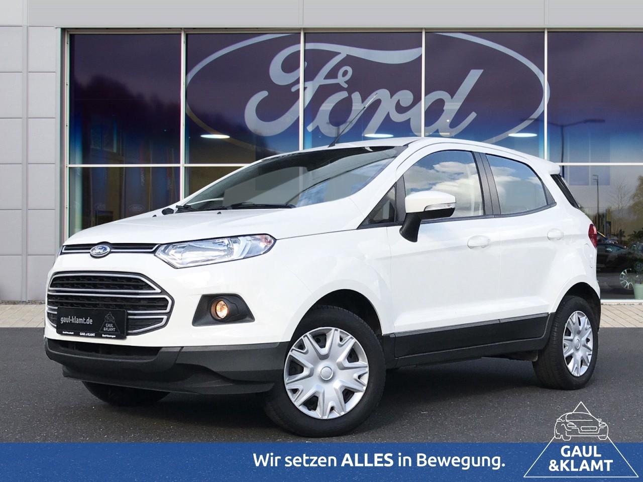 Ford EcoSport 1.5 Ti-VCT Trend #Winter-Paket #Radio, Jahr 2016, Benzin