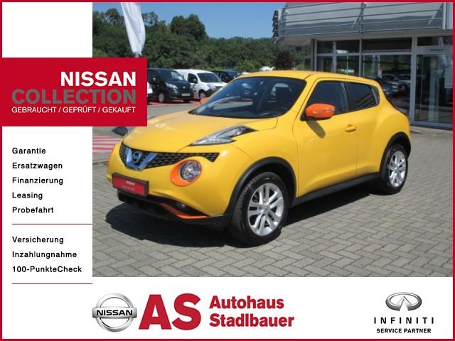 Nissan Juke Acenta 1.5 dCi Navi Connect - Mit Garantie, Zahnriemen neu..., Jahr 2015, Diesel