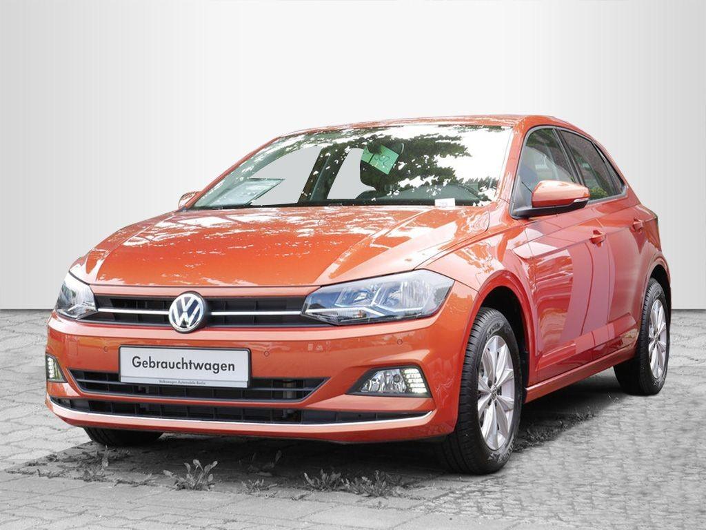 Volkswagen Polo 1.0TSI Highline NAVI PDC SHZ MFL, Jahr 2019, Benzin