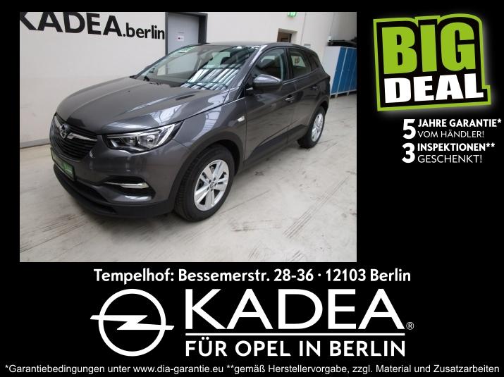 Opel Grandland X 1.2 Edition 5 J. Händlergaran. inkl., Jahr 2018, Benzin