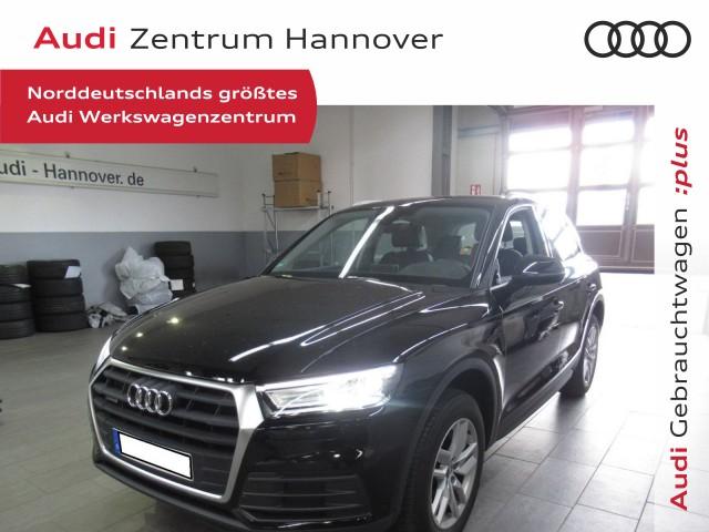 Audi Q5 2.0 TDI AHK Navi Leder-Alcantara Xenon Plus Keyless go, Jahr 2018, Diesel