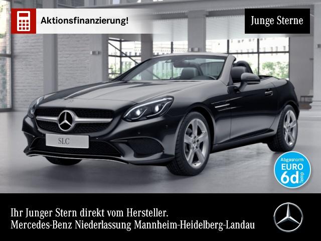 Mercedes-Benz SLC 180 Pano Harman ILS LED Airscarf Navi PTS Temp, Jahr 2019, Benzin
