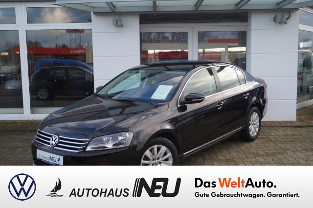 Volkswagen Passat 1.4 TSI DSG Comfortline Klima GRA LMF PDC, Jahr 2012, petrol