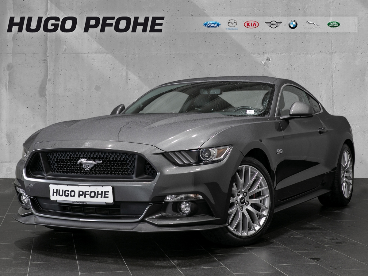 Ford Mustang GT 5.0 Ti-VCT V8 Aut. GT Coupe / Sportw, Jahr 2017, Benzin