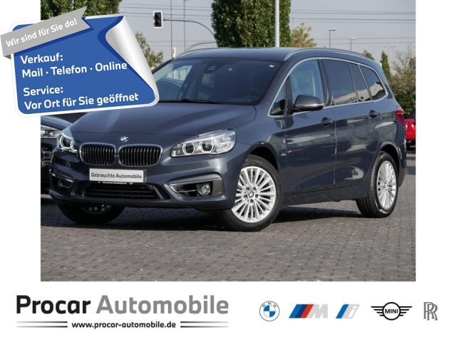 BMW 218 Gran Tourer Aut. Luxury Line Navi LED Leder, Jahr 2017, Benzin