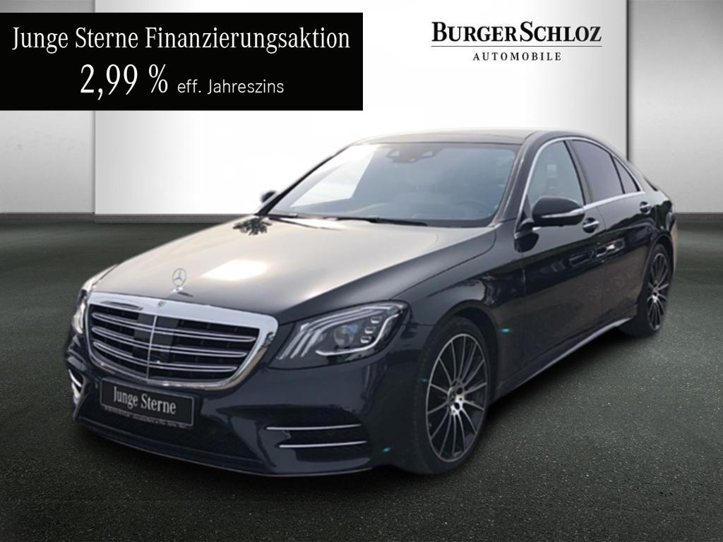 Mercedes-Benz S 560 4MATIC Limousine AMG/Chauffeur/Designo, Jahr 2017, Benzin