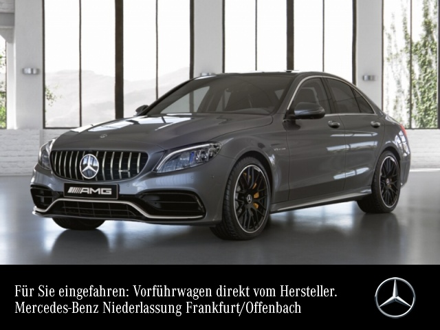 Mercedes-Benz C 63 S Sportpaket Head Up Display Navi LED Klima, Jahr 2021, Benzin