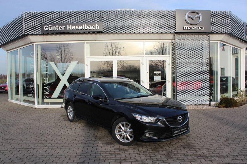 Mazda 6 CENTER Einparkhilfe / Spurwechselassistent / 1. Hand, Jahr 2014, Benzin