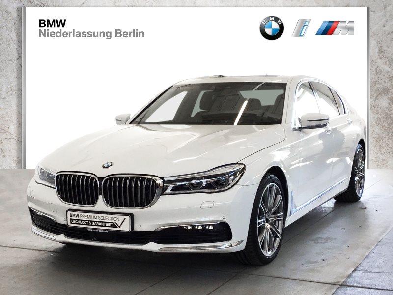 BMW 730d xDrive Lim. EU6 Laser Navi Komfortsitze GSD, Jahr 2018, Diesel
