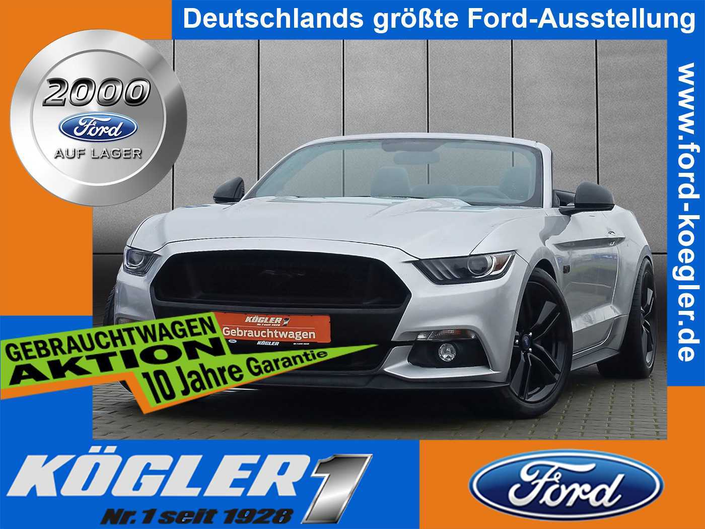 Ford Mustang Cabrio GT 5.0 Aut./Premium-Paket, Jahr 2017, Benzin