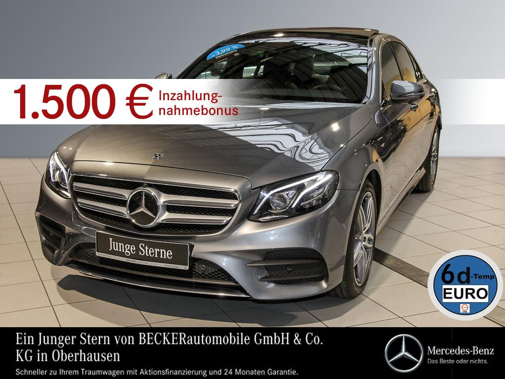 Mercedes-Benz E 450 4M AMG Pano Comand Widescreen Distr + 360°, Jahr 2019, petrol