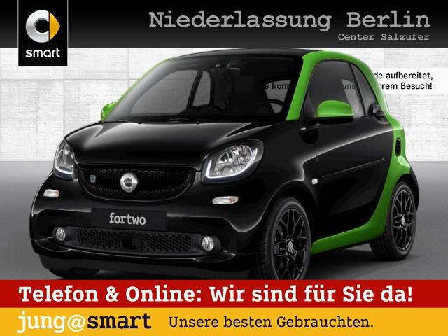 smart fortwo coupé 60kWed passion Sport SHZ Pano LED, Jahr 2017, Elektro