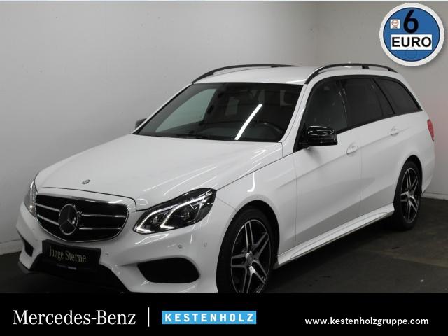 Mercedes-Benz E 300 T BT AMG+COMAND+DISTRO+LED-ILS+NIGHT+PTS, Jahr 2015, diesel