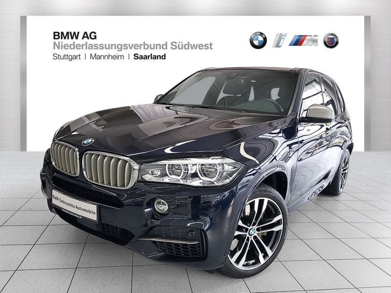 BMW X5 M50d Sportpaket Head-Up HK HiFi LED RFK RTTI, Jahr 2016, Diesel