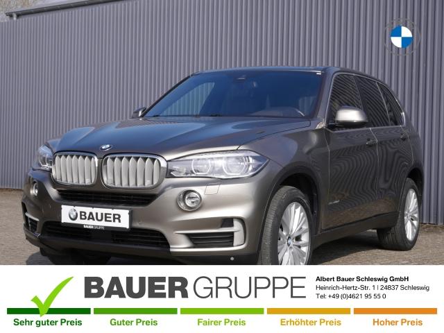 BMW X5 xDrive40d, AHK, Standheizung, Panorama, Fahrwerk adaptiv, Leder LED Navi Keyless AD, Jahr 2017, Diesel
