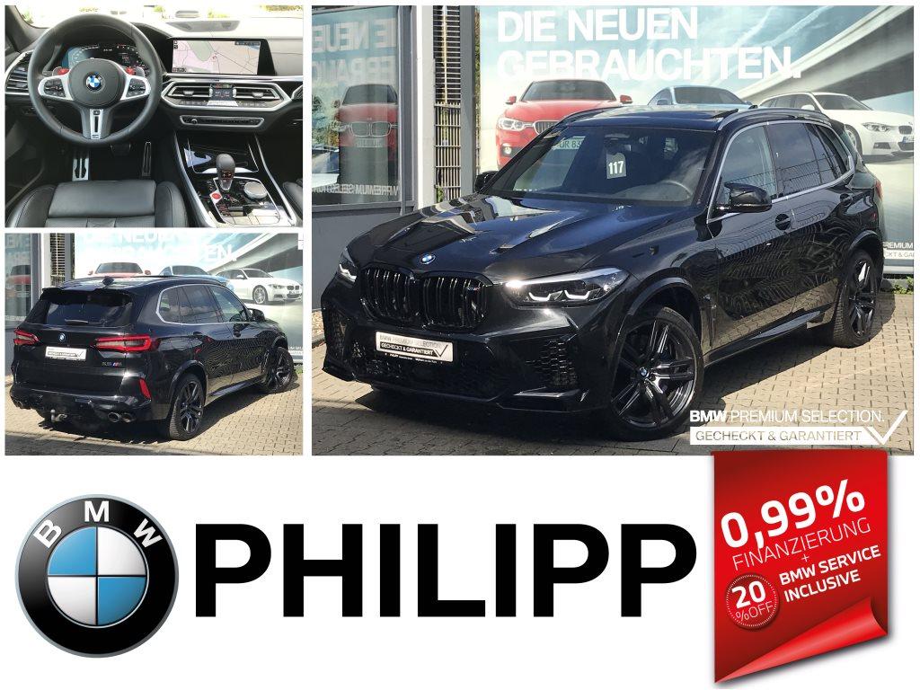 BMW X5 M AHK Panorama Glasdach h&k DAP PA+ DAB, Jahr 2020, Benzin