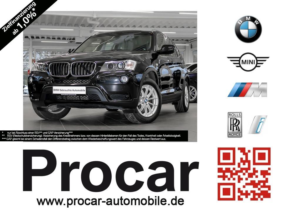 BMW X3 xDrive20d Aut. Navi Business Klimaaut. AHK, Jahr 2013, diesel