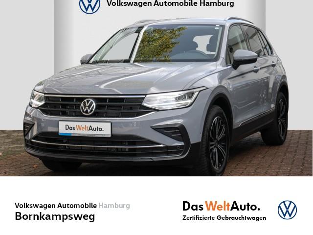 Volkswagen Tiguan 2,0 TDI United DSG PDC/AHK/NAVI, Jahr 2021, Diesel