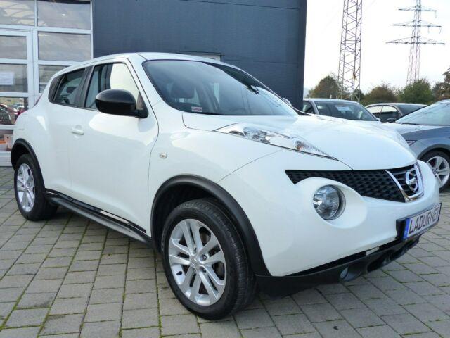 Nissan Juke 1.6 Acenta *Anhängekupplung*1 Jahr Garantie, Jahr 2013, Benzin