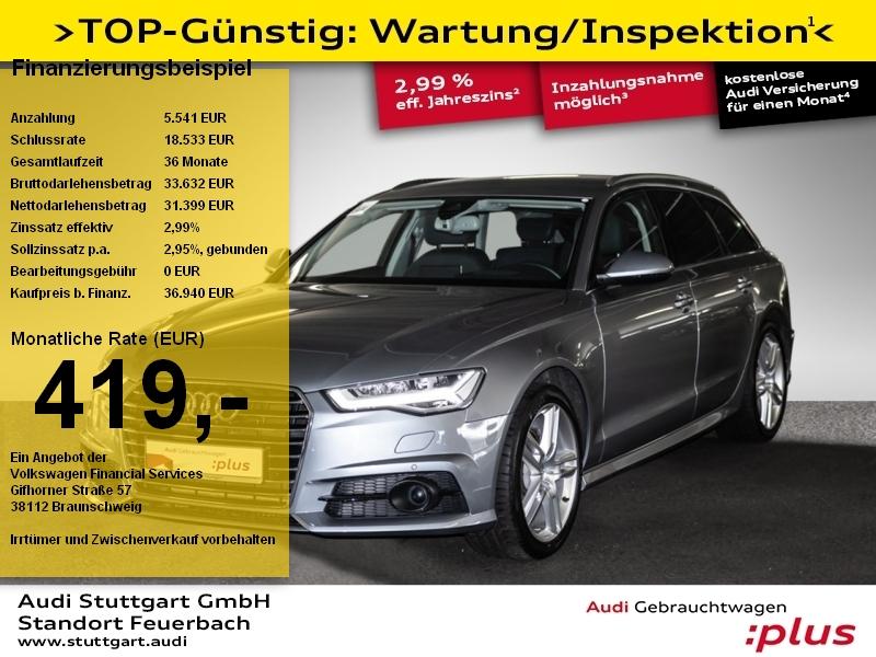 Audi A6 Avant 1.8 TFSI ACC LED HeadUp Kamera DAB BOSE, Jahr 2018, Benzin
